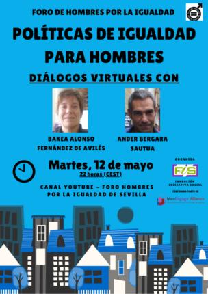 cartel de los diálogos virtuales 6