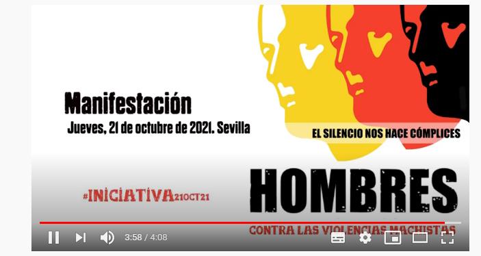 Convocatoria de mani contra la violencia de género 21.10.2021