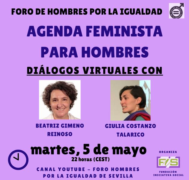 Beatriz Gimeno y Giulia Costanzo: Agenda feminista para hombres.