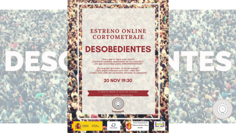 estreno cortometraje Desobedientes