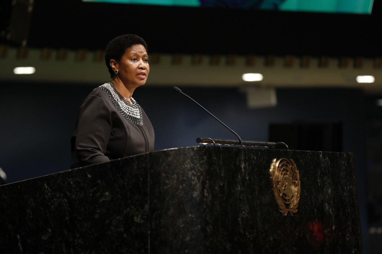 Phumzile Mlambo-Ngcuka, Directora de ONU Mujeres