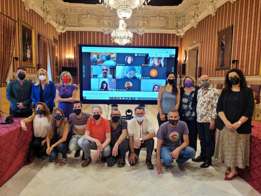 Participantes en la presentación de la Iniciativa Sevilla #21oct21