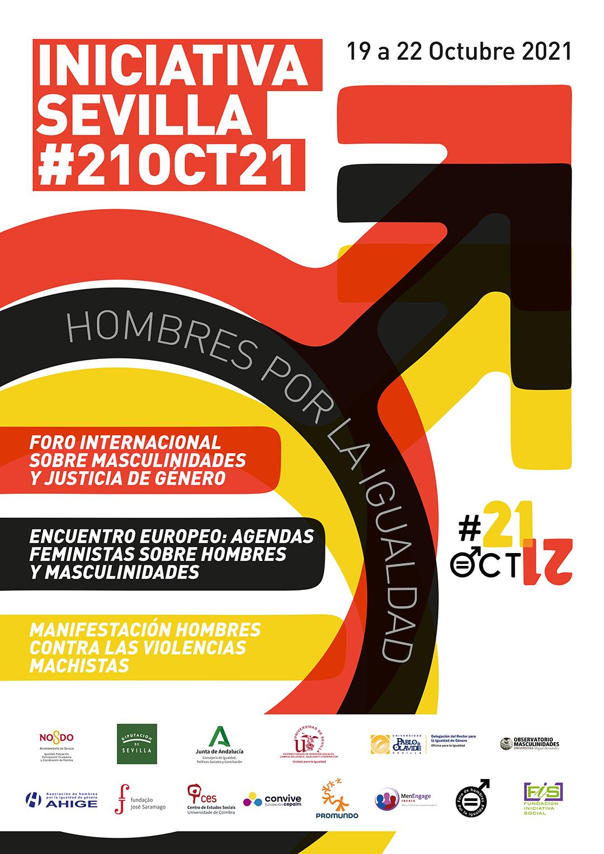 En este momento estás viendo Hombres por la igualdad y mujeres feministas debatirán sobre modelos de masculinidad en la Iniciativa Sevilla #21oct21