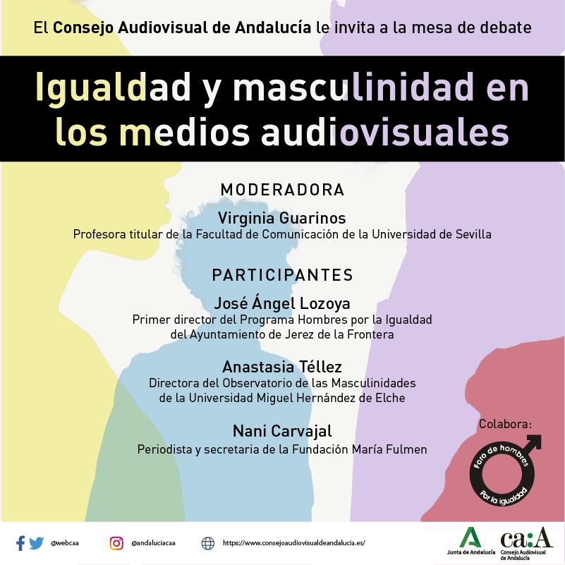 Lee más sobre el artículo Igualdad y Masculinidad en los medios audiovisuales